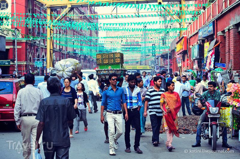 В городе Калькутта, Индия / Фото из Индии