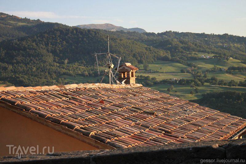 В Италию на мотоцикле! Крепость Сан-Лео / Сан-Марино