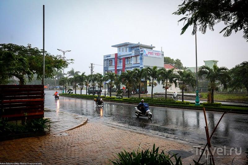 В городе Туи Хоа, Вьетнам / Фото из Вьетнама