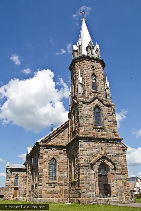 Костел Святого Казимира в деревне Липнишки, Белоруссия / Фото из Белоруссии