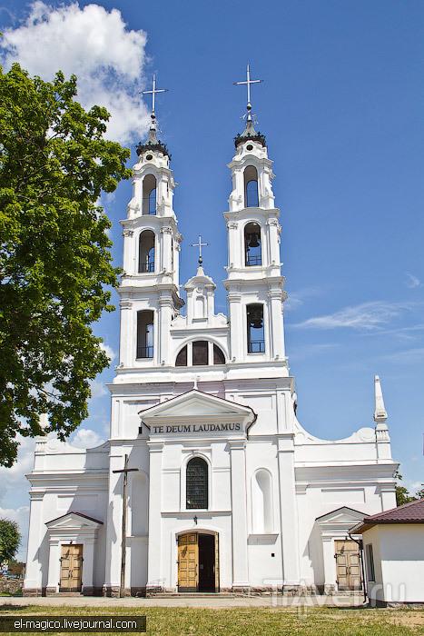 Костел Святого Архангела Михаила в городке Ошмяны, Белоруссия / Фото из Белоруссии