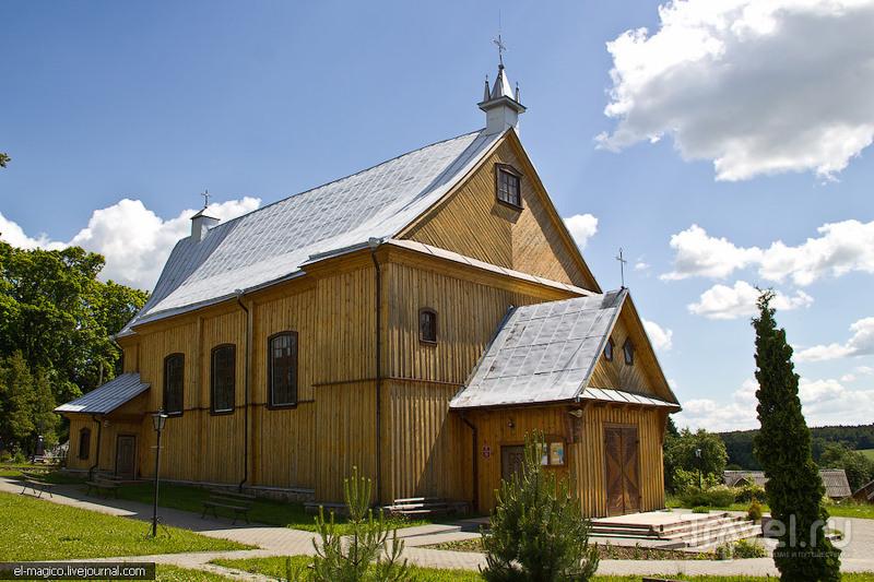 Храм Посещения Пресвятой Девой Марией Елисаветы в Гудогае, Белоруссия / Фото из Белоруссии