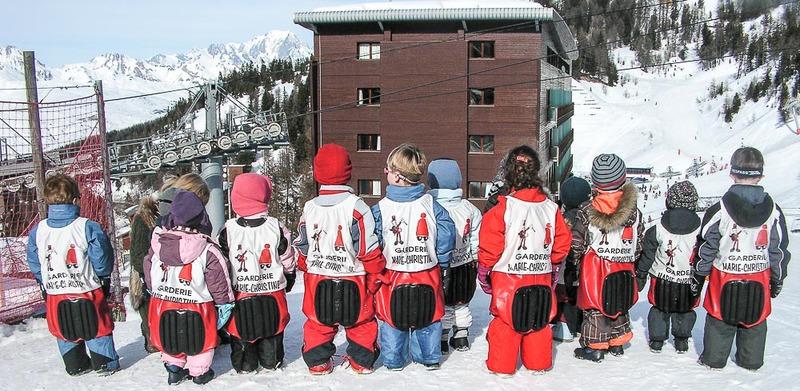 Детский сад на горнолыжном курорте Ла-Плань