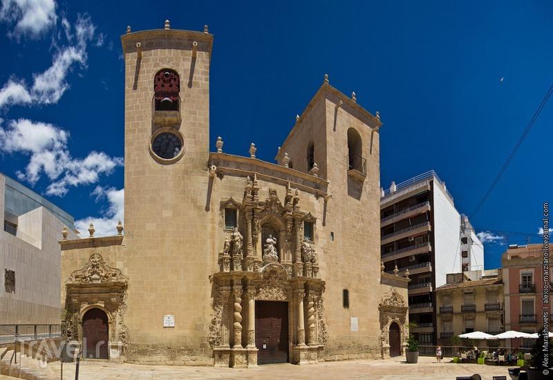 Церковь Iglesia de Santa María в Аликанте, Испания / Фото из Испании