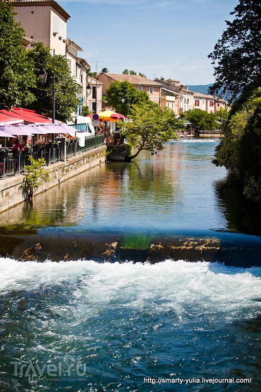 Л'Иль-сюр-ла-Сорг (L'Isle-sur-la-Sorgue) - Венеция Прованса / Фото из Франции