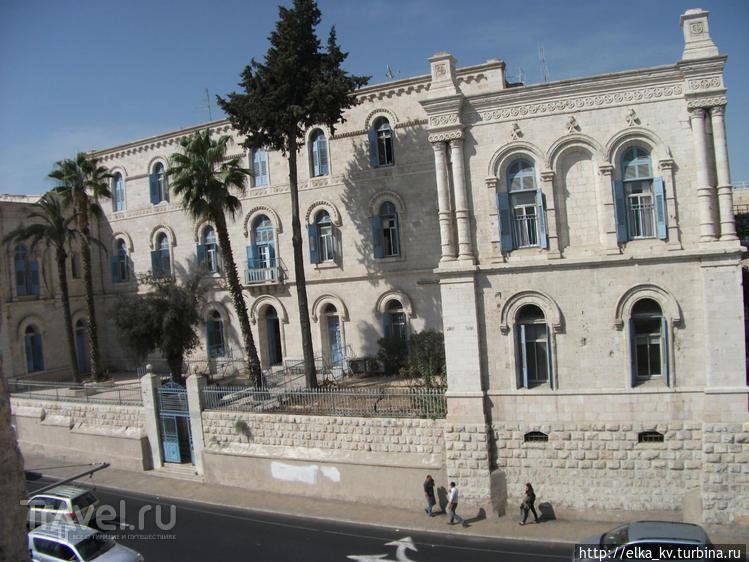 Прогулка по стенам Старого города Иерусалима / Израиль