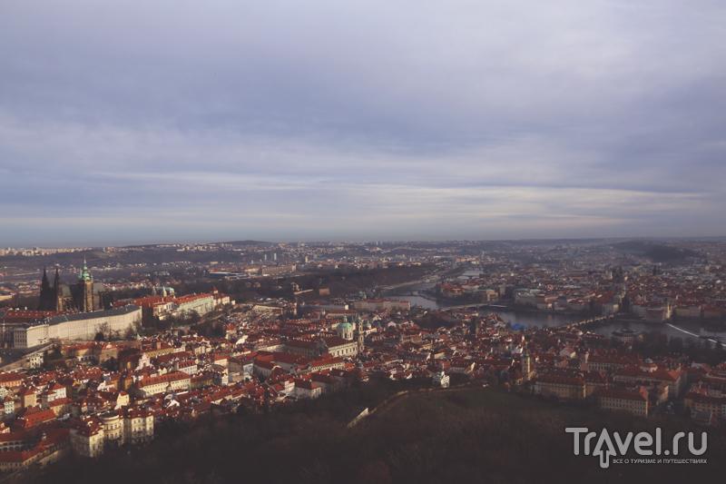 Прага с высоты птичьего полета / Чехия