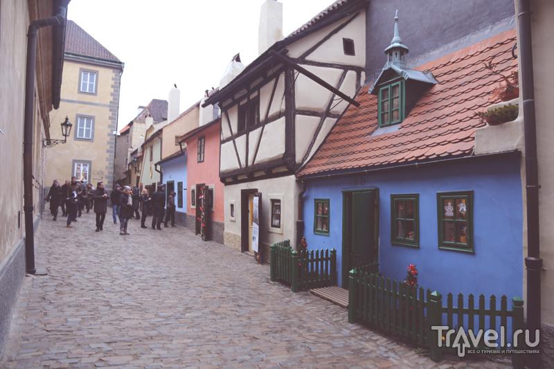 Разноцветные дома Златой Улочки в Праге, Чехия / Чехия