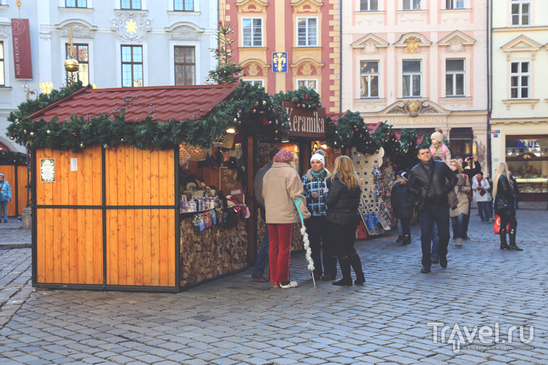 Рождественская ярмарка на Староместской площади в Праге, Чехия / Чехия