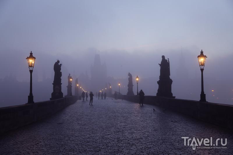 Карлов Мост рано утром / Чехия