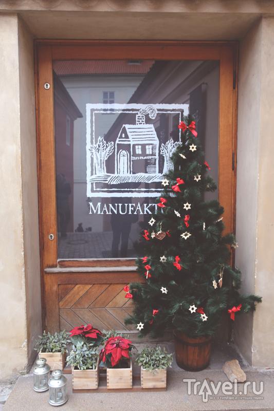 Украшенная витрина магазина в Праге, Чехия / Чехия
