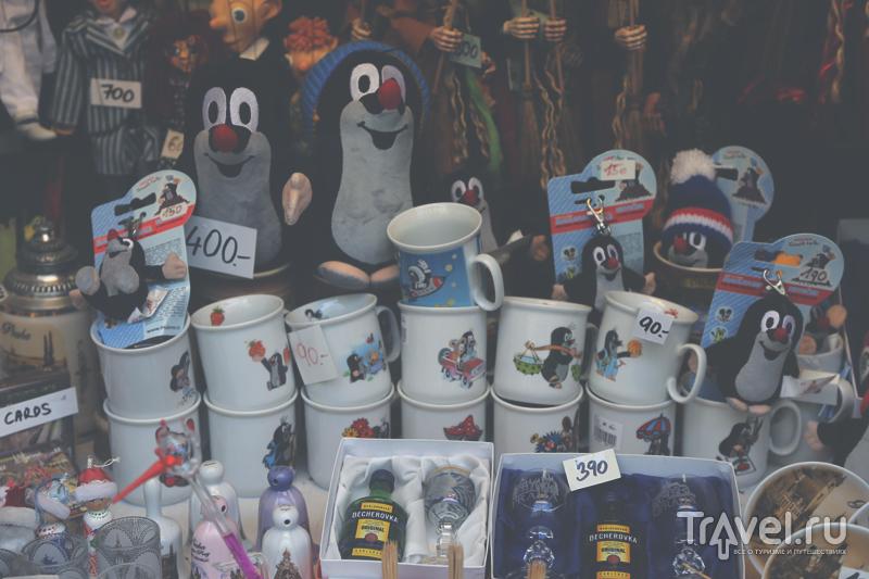 Сувениры с кротами в Праге, Чехия / Чехия