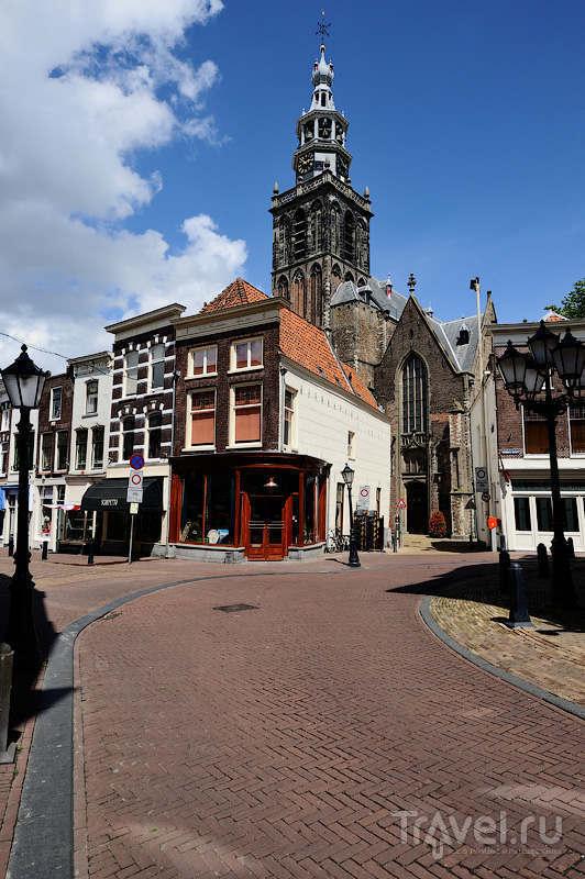 Церковь святого Иоанна Крестителя (Sint Janskerk) в Гауде, Нидерланды / Фото из Нидерландов