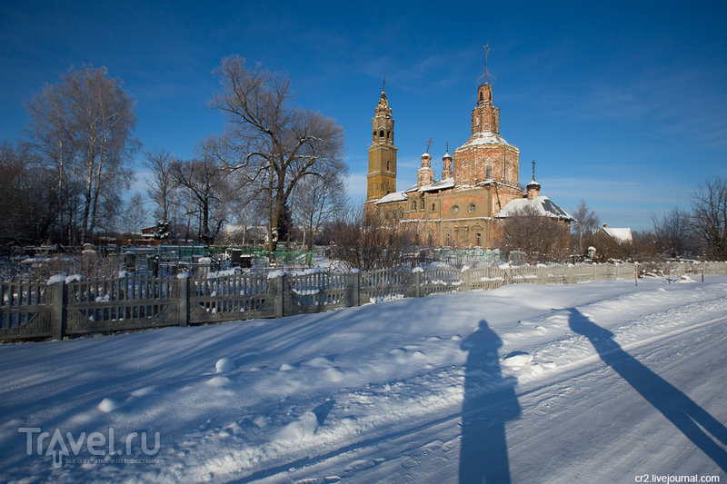 Воскресенская церковь в селе Воскресенская Слободка, Россия / Фото из России