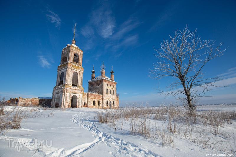 Церковь Флора и Лавра в селе Кибол, Россия / Фото из России