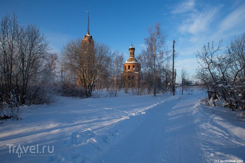 Покровская церковь в селе Клементьево, Россия / Фото из России