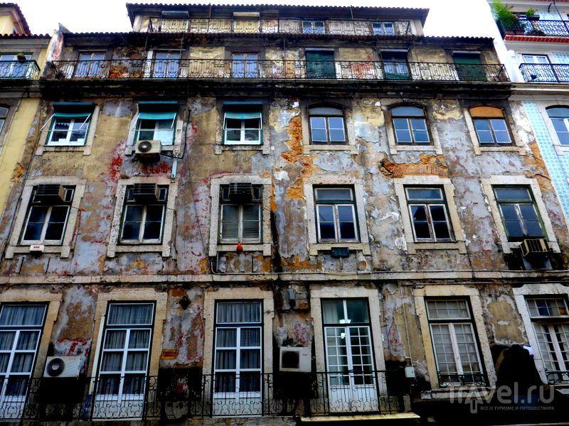 В городе Лиссабон, Португалия / Фото из Испании