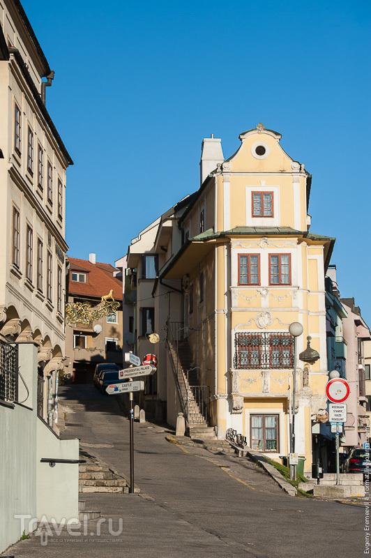 По центру Братиславы / Фото из Словакии