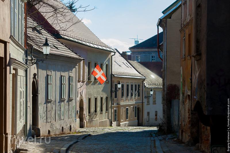 На улице Kapitulská в Братиславе, Словакия / Фото из Словакии