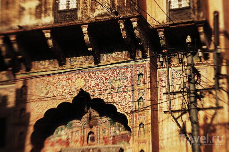 Фатехпур. Хавели - дико наивно и ужасно симпатично / Фото из Индии