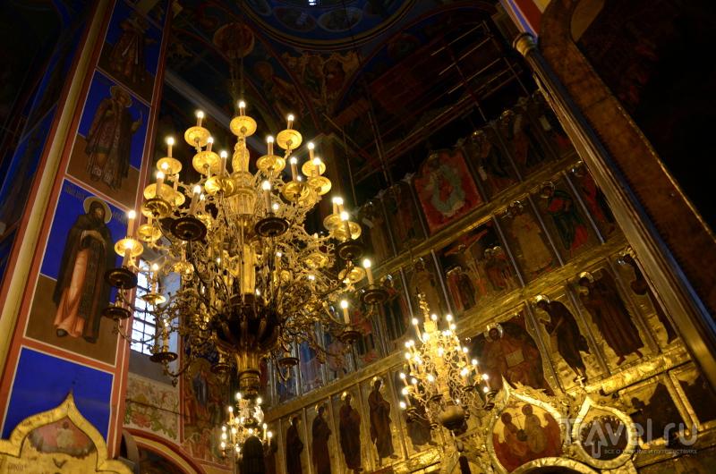 Внутри Рождественского собора в Суздале / Фото из России