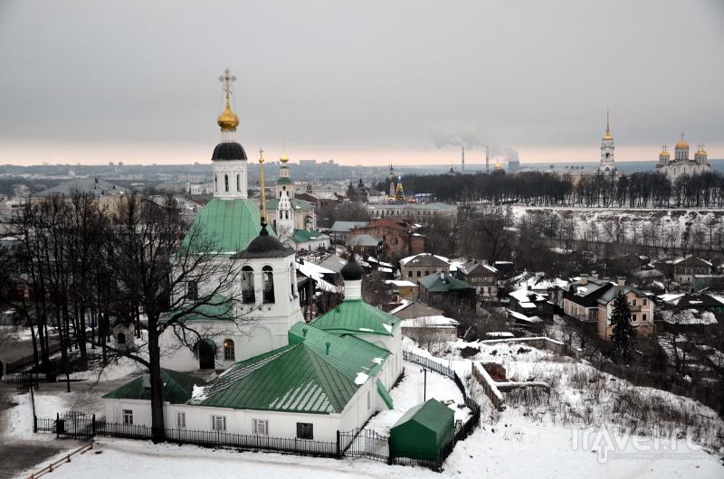 Вид со смотровой площадки водонапорной башни во Владимире / Фото из России