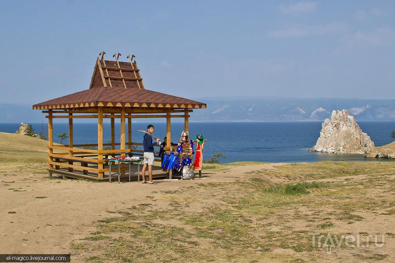 В поселке Хужир на острове Ольхон, Россия / Фото из России