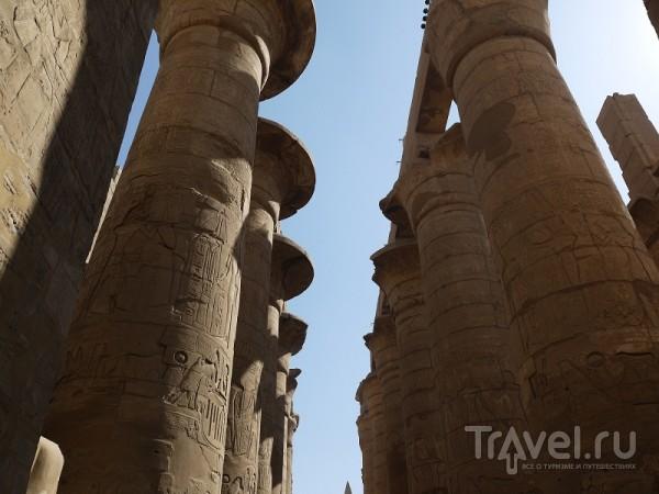Египет. Карнакский храм / Египет