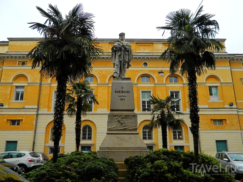 Piazza Garibaldi в Равенне, Италия / Фото из Италии