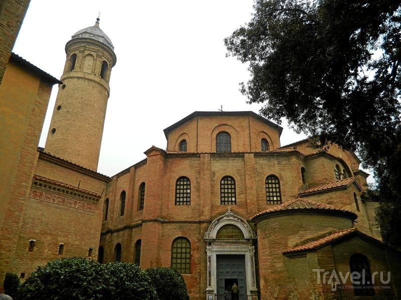 Базилика святого Виталия в Равенне, Италия / Фото из Италии