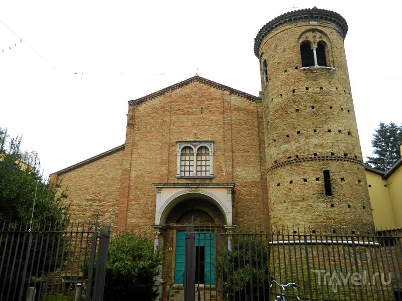 Basilica Sant'Agata Maggiore в Равенне, Италия / Фото из Италии
