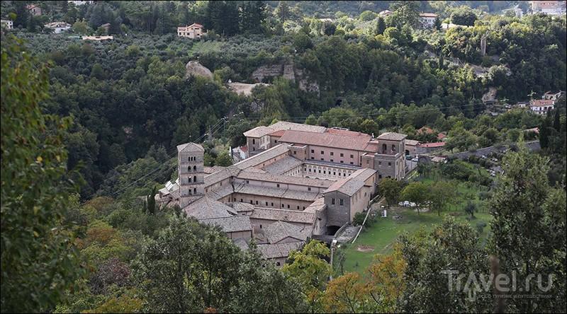 Монастырь святой Схоластики, Италия / Фото из Италии