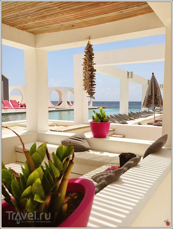 Saint Tropez Ocean Club в Виллемстад, Кюрасау / Фото с Кюрасао