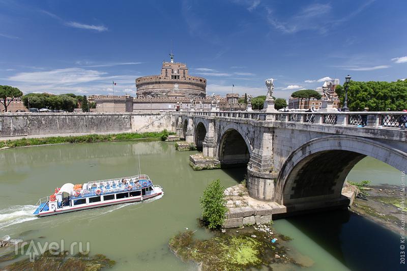 Замок святого Ангела в Риме, Италия / Фото из Ватикана