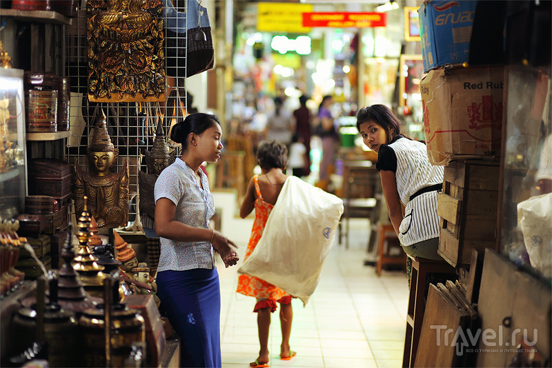 Мьянма: страна, застывшая в золоте. Янгон / Фото из Мьянмы