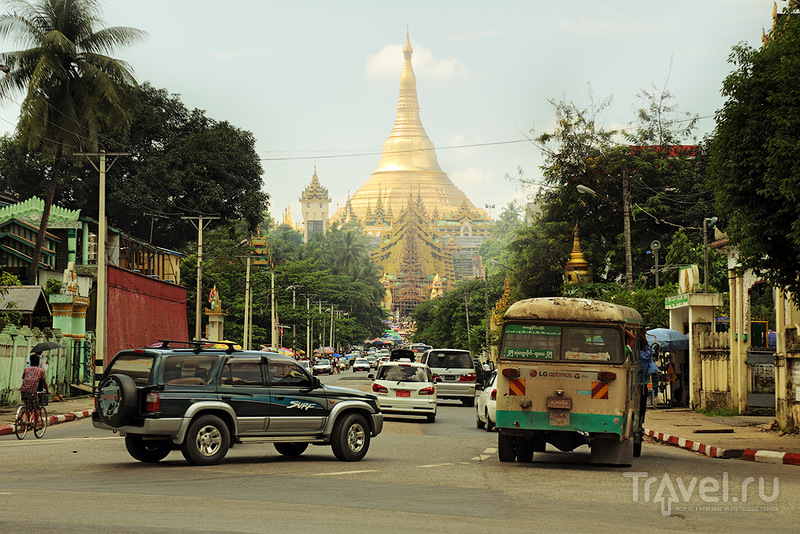 Пагода Шведаго в Янгоне, Мьянма / Фото из Мьянмы