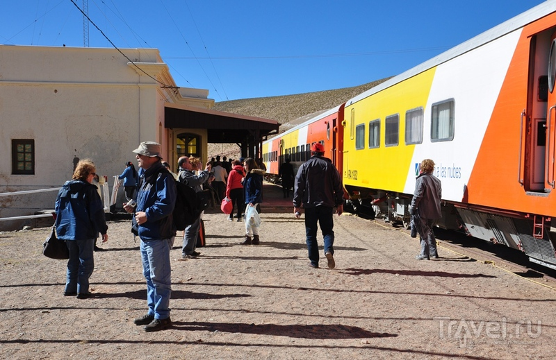 "Аргентина. ""Tren a las nubes"" - поезд в облака / Аргентина"