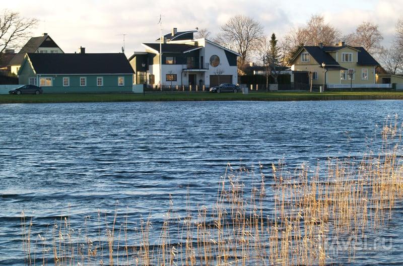 В городе Хаапсалу, Эстония / Фото из Эстонии