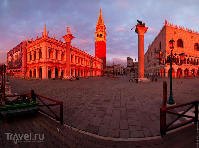 Площадь Сан-Марко в Венеции, Италия / Фото из Италии