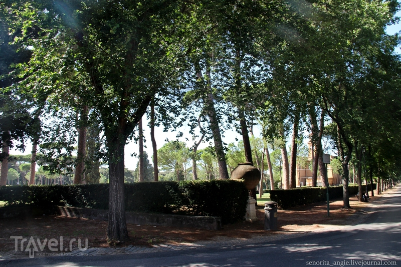 Заглянуть одним глазком в парк Виллы Боргезе / Италия