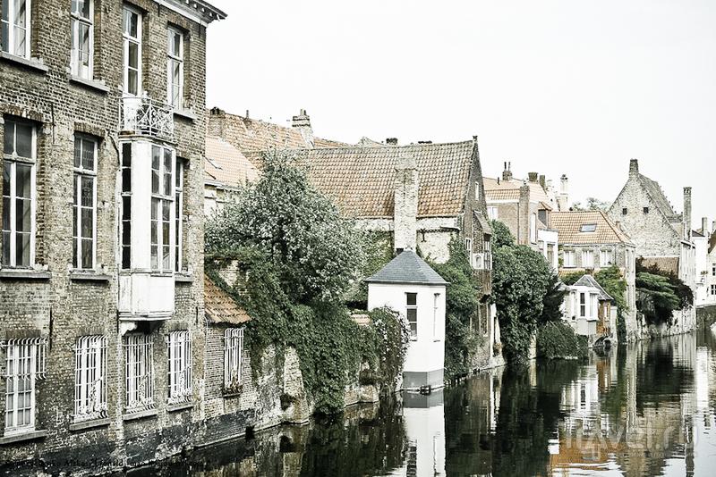 Брюгге - северная Венеция / Фото из Бельгии