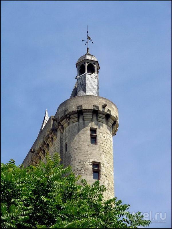 В городе Шинон, Франция / Фото из Франции