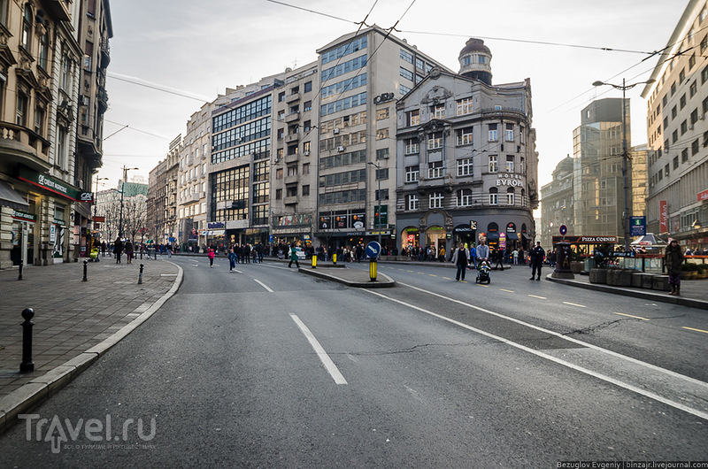 Улица Краля Миланав Белграде, Сербия / Фото из Сербии