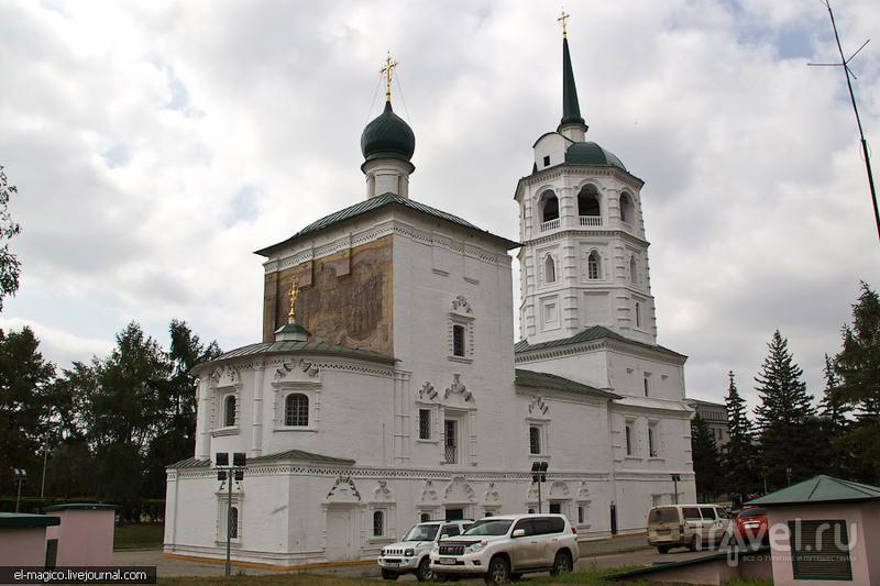 Спасская церковь в Иркутске, Россия / Фото из России