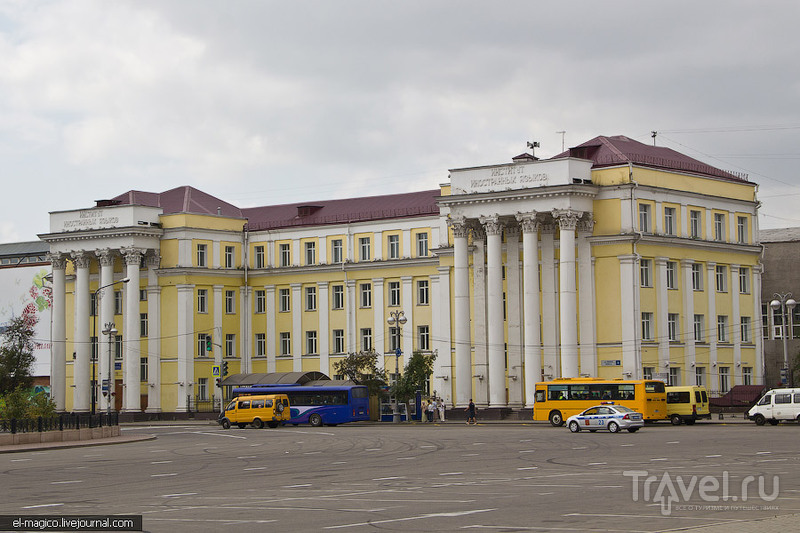 Университет ИГЛУ в Иркутске, Россия / Фото из России