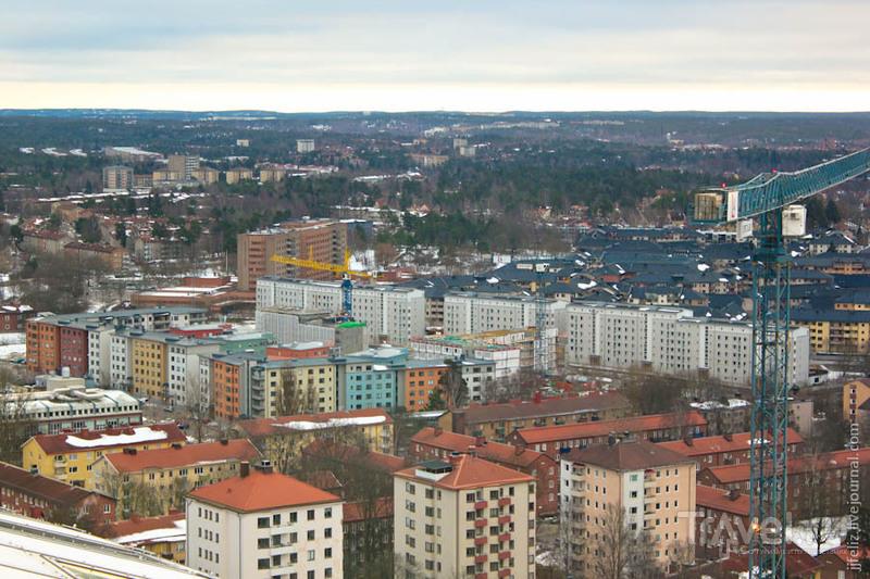 Стокгольм, вид сверху / Швеция