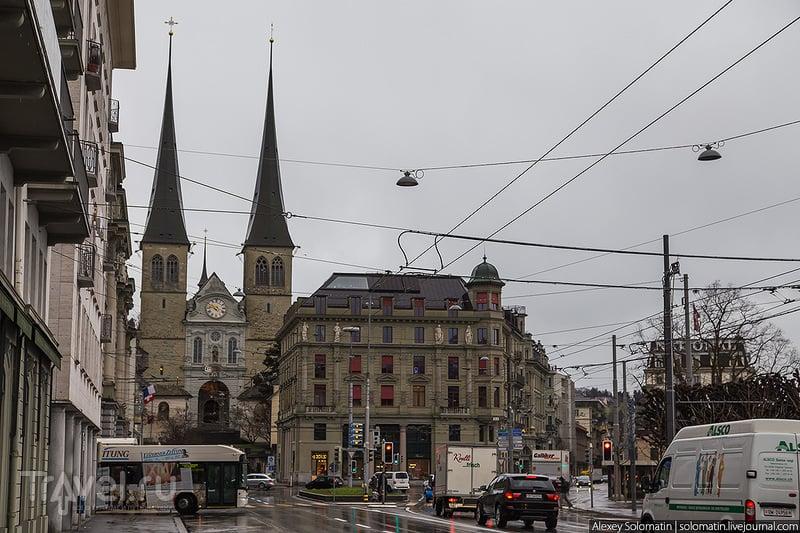 Люцерн. Сердце Швейцарии / Фото из Швейцарии