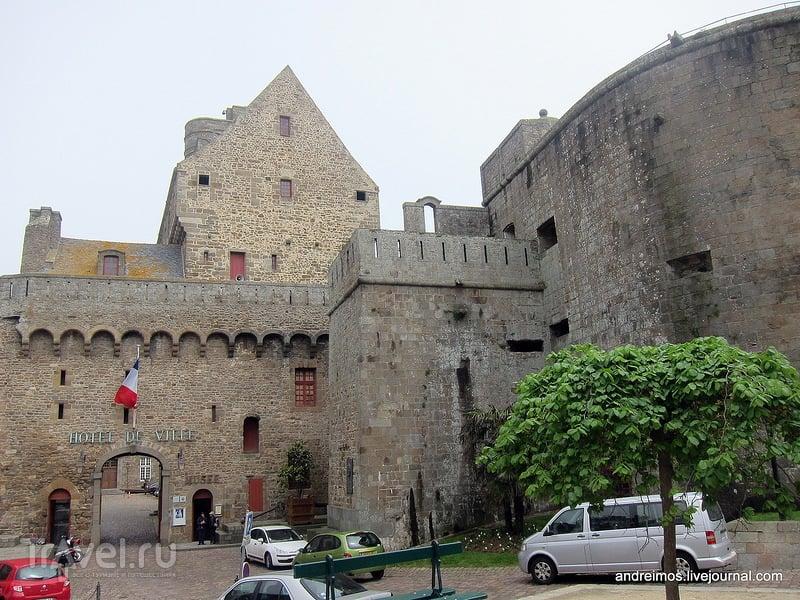 Замок Сен-Мало (Château de Saint-Malo) / Франция