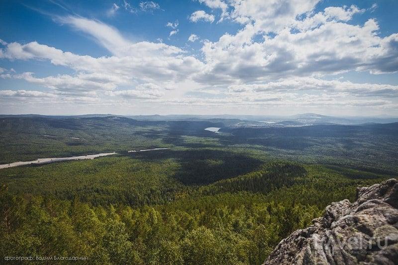 Хребет Таганай на Южном Урале, Россия / Фото из России