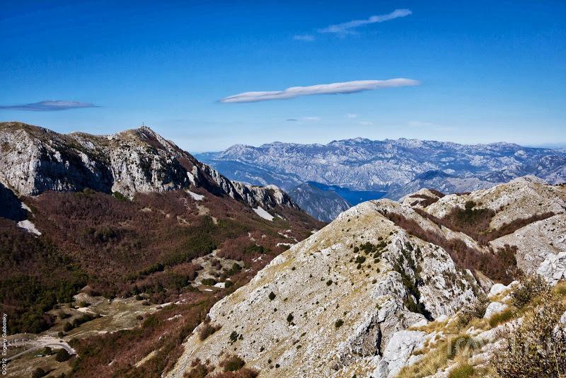 Побережье осенью: Котор и то что над ним / Фото из Черногории